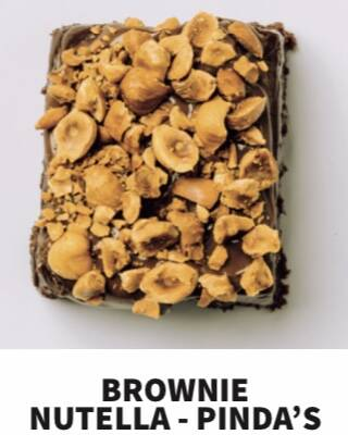 Brownie hazelnoot rotsje