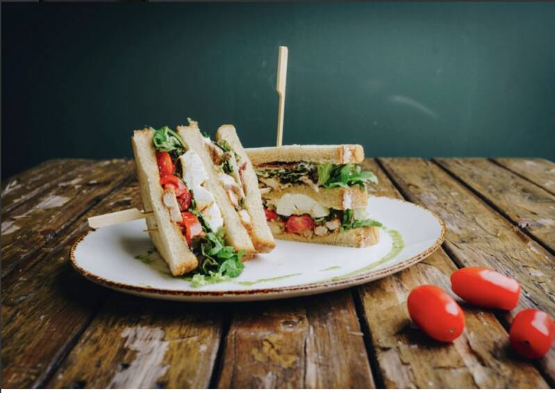 Club sandwich kip