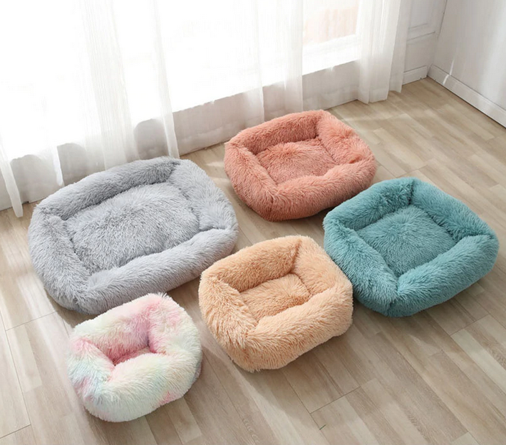 New Design! Fluffy Bed Square