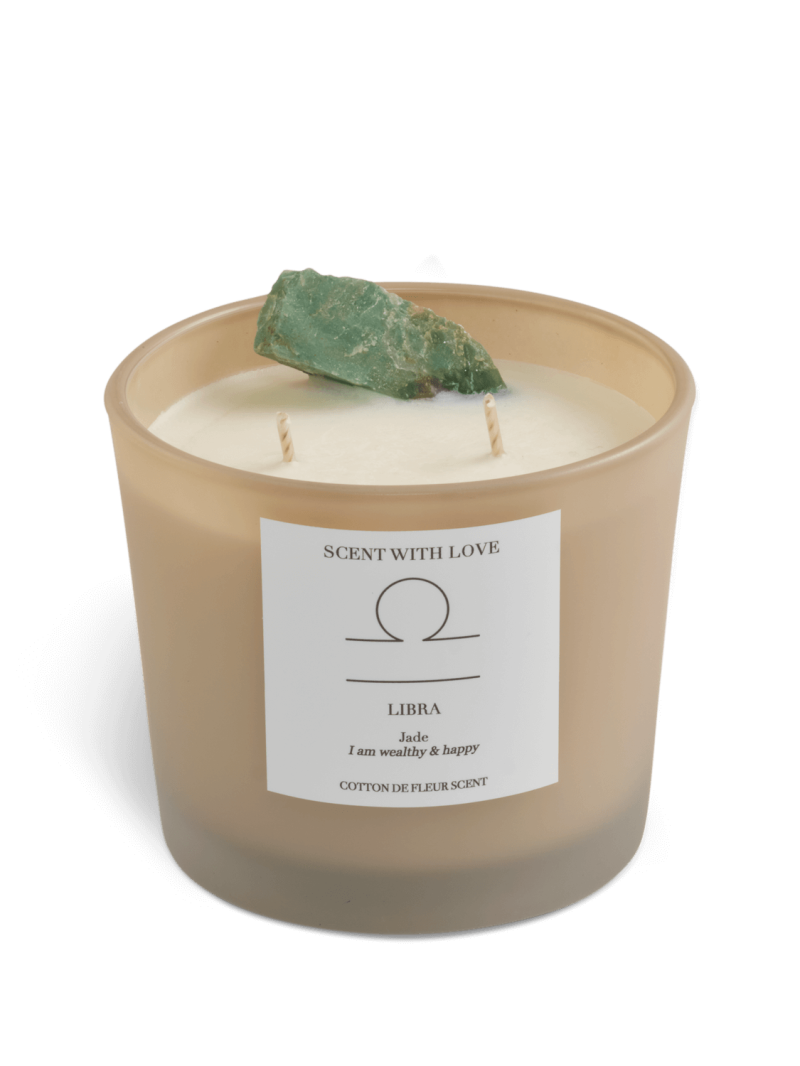 Zodiac Candle   Weegschaal   Scent With Love