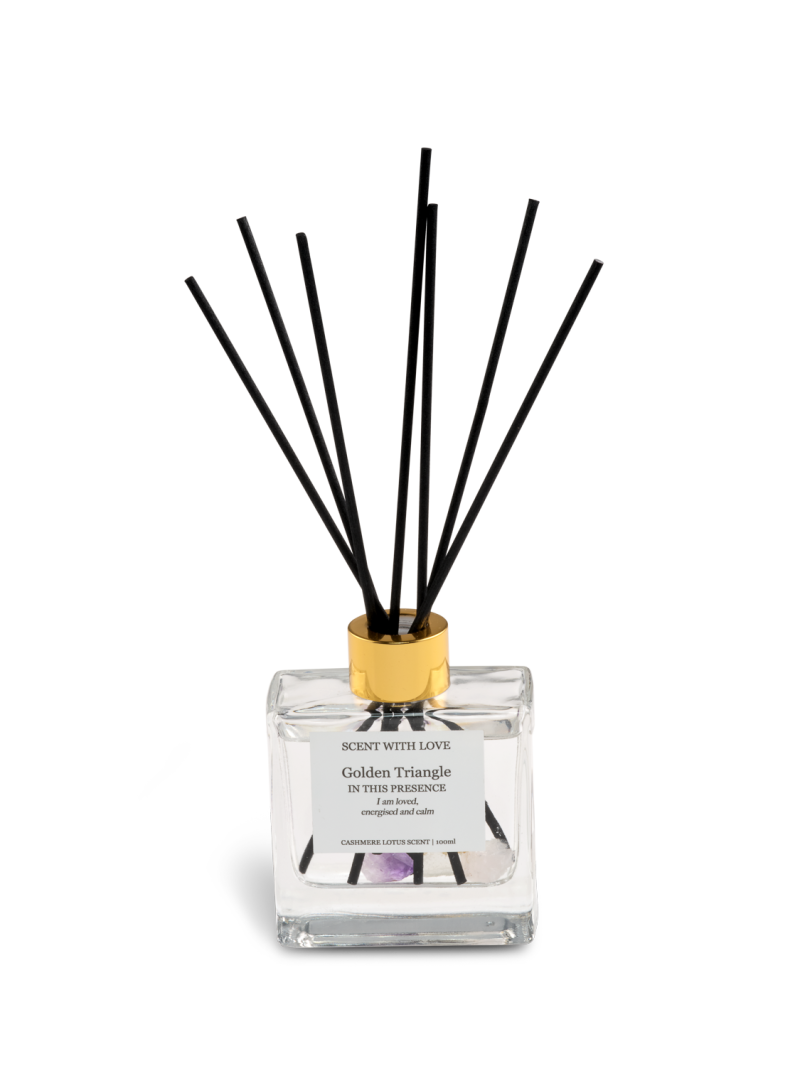 Diffuser Golden Triangle II   Scent With Love