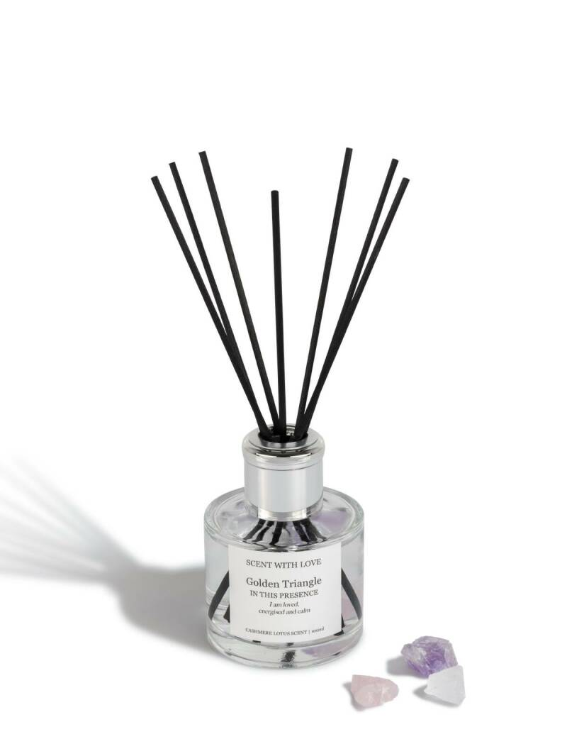 Diffuser Golden Triangle   Scent With Love