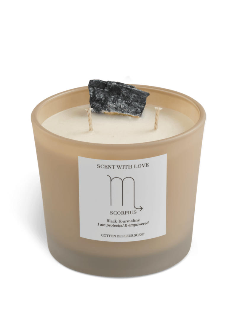 Zodiac Candle   Schorpioen   Scent With Love