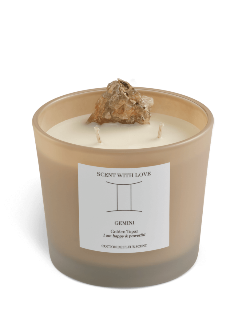Zodiac Candle | Tweeling | Scent With Love