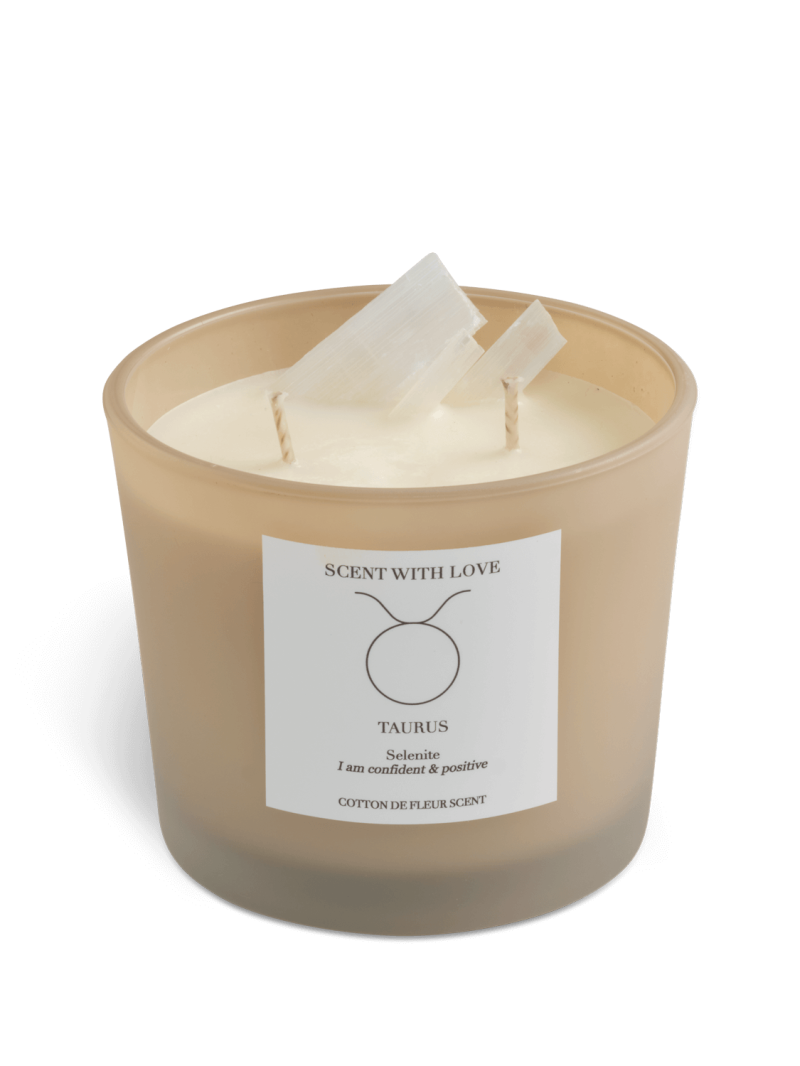 Zodiac Candle   Stier   Scent With Love