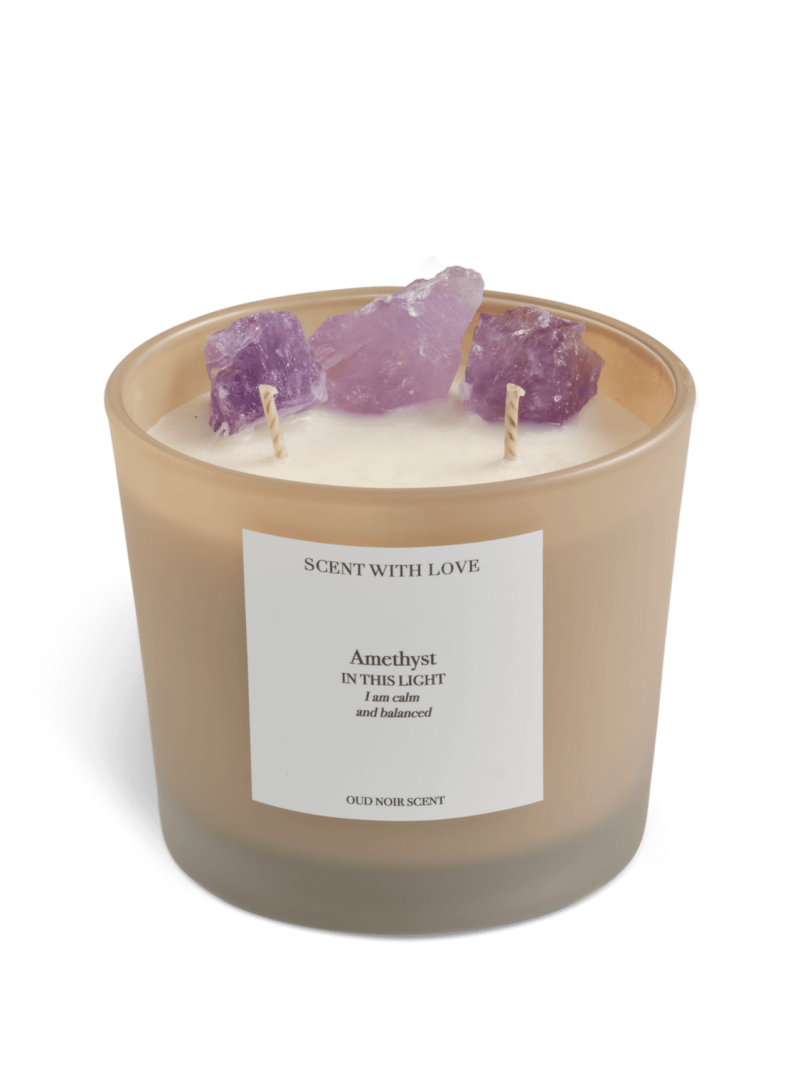 Amethyst Candle | Scent With Love