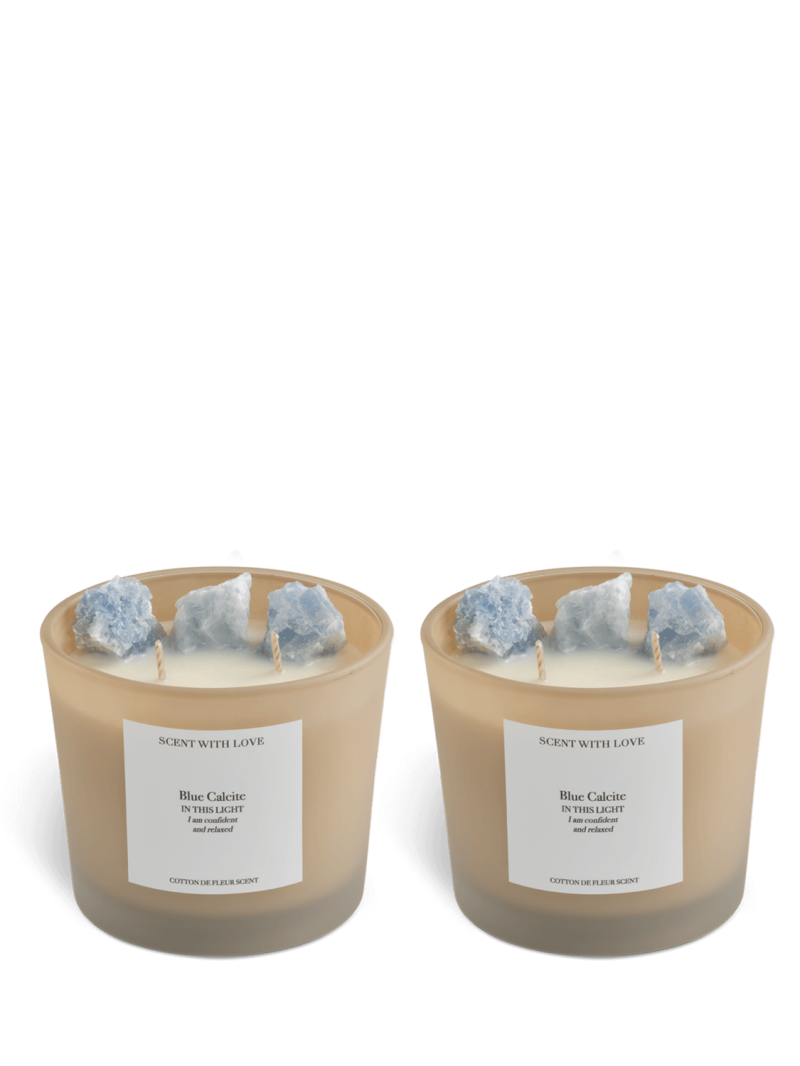 Friendship   Blue Calcite   Scent With Love