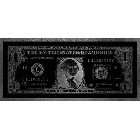 Aluart dollar Washington Silver