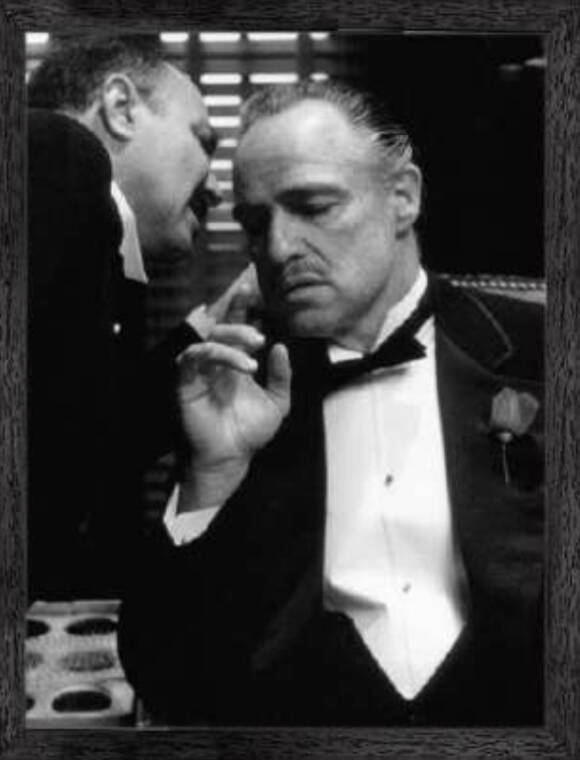 Zwart wit lijst The Godfather