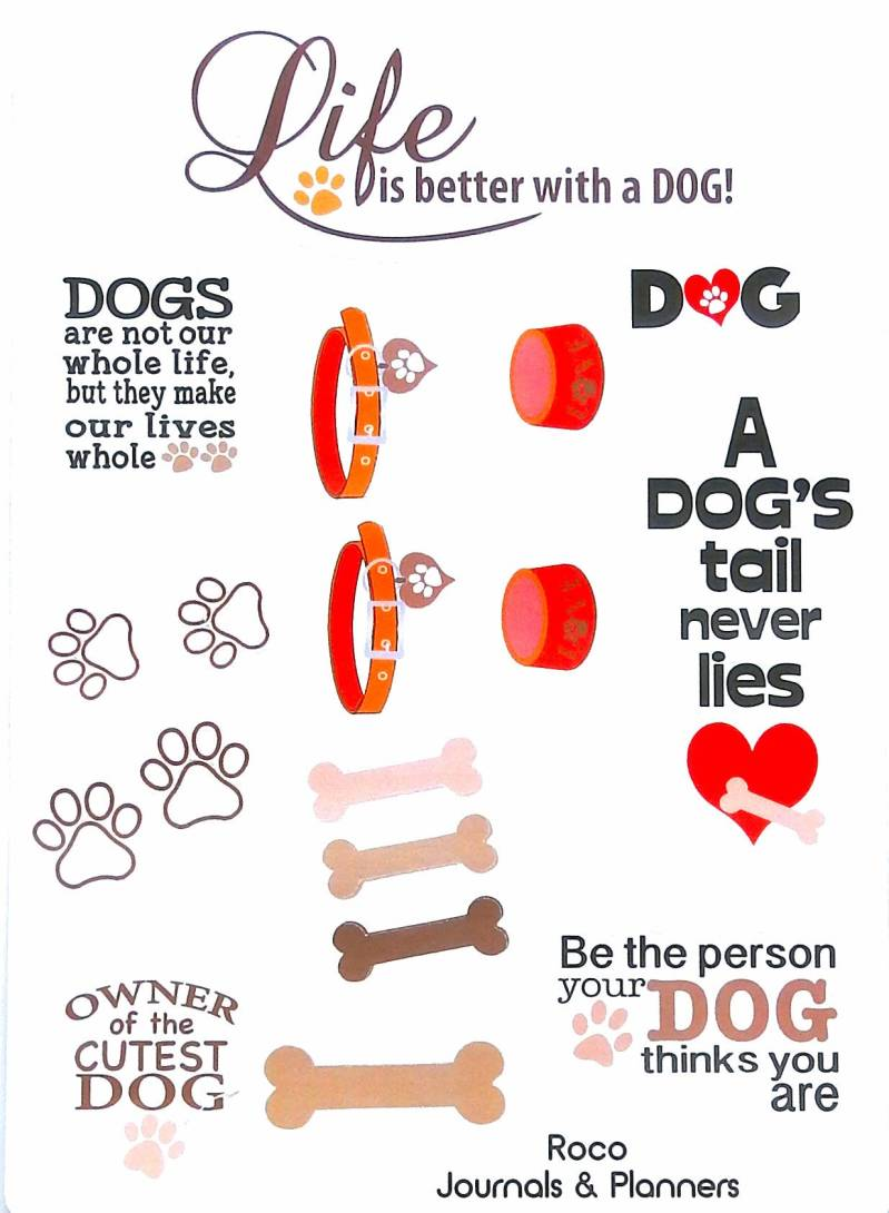 Stickers Life is better with a dog