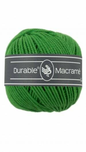 Durable Macramé Bright Green