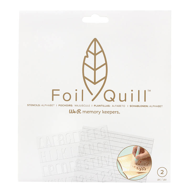 Foil Quill Freestyle Stencils Basics