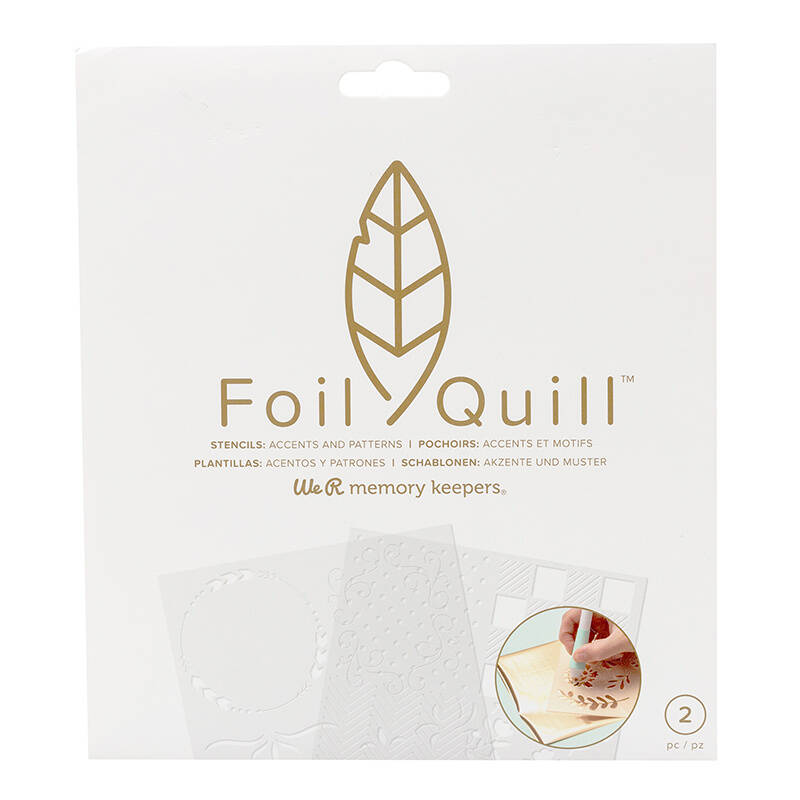 Foil Quill Freestyle Stencils Patterns