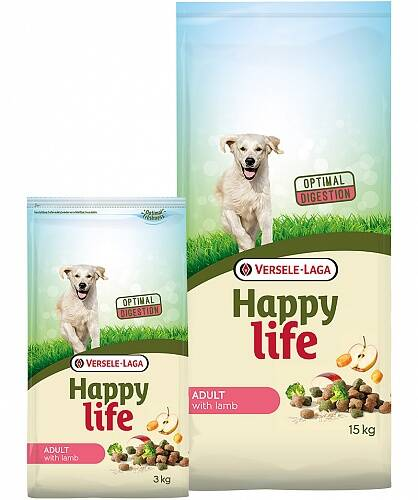 Happy Life Adult Lamb 3 kg