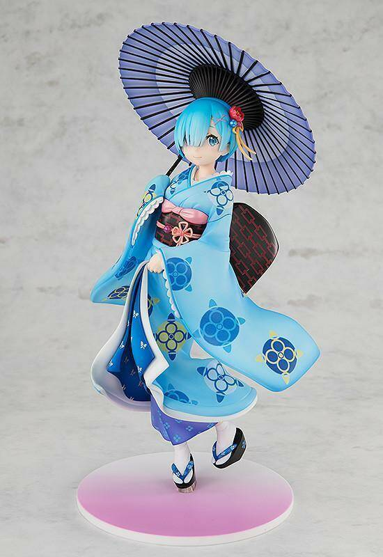 Rem in traditionele kimono figure (Re: zero)