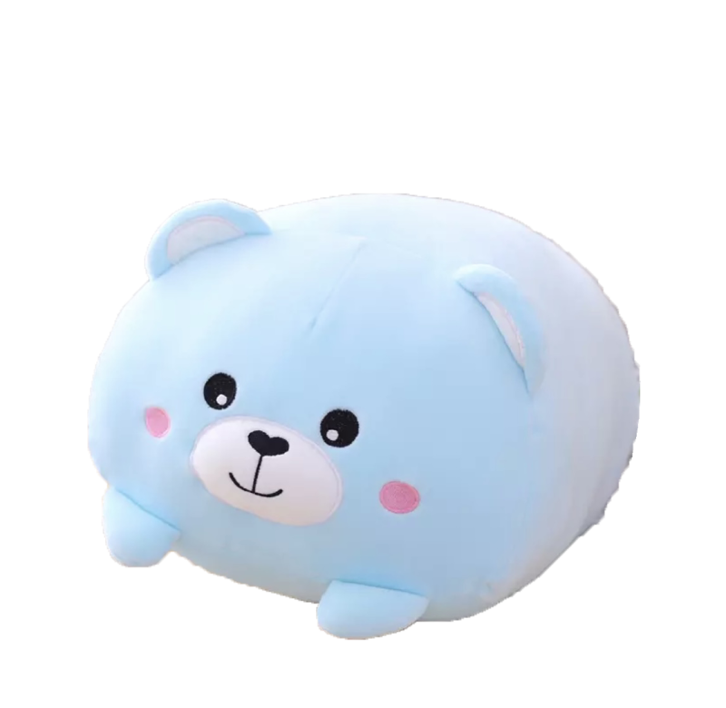 Kawaii Blue Bear | Plushy Knuffel | 20/60 cm