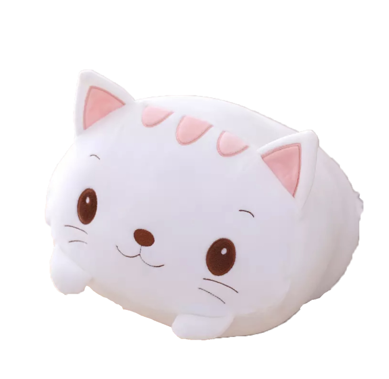 Cute Kawaii Cat Kat | Plushy Knuffel | 20/60 cm