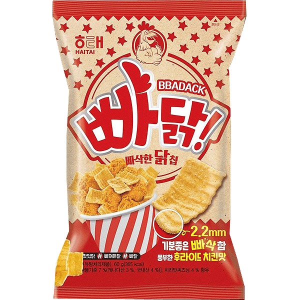 Koreaans Chicken chips