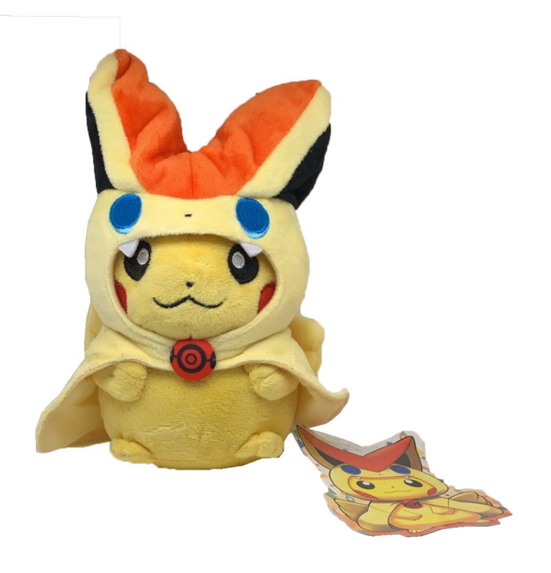 Pokémon Pikachu in Victini Cosplay | Plushy Knuffel |  16 cm