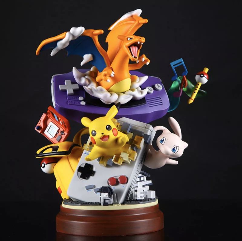 Pokémon figure Gameboy