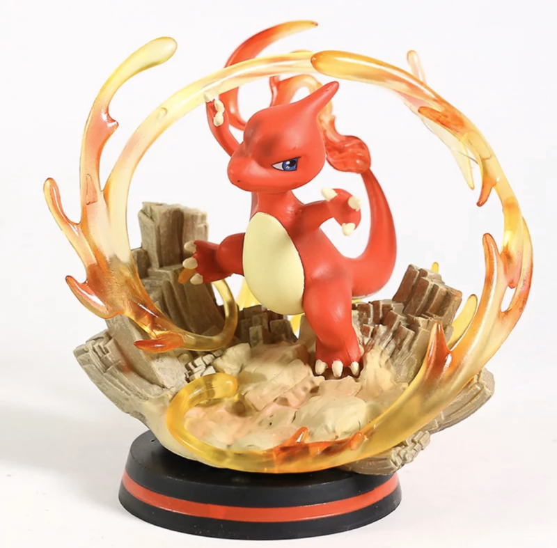 Pokemon Charmeleon evolution van Charmander gedaiteerd  figure 12 cm