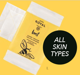 Jafra Royal Boost Cleanse + Tone Wipes 30stk Aanvullen