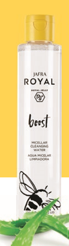 Jafra Royal Boost Micellar Cleansing Water 200ml Droge en gevoelige huid