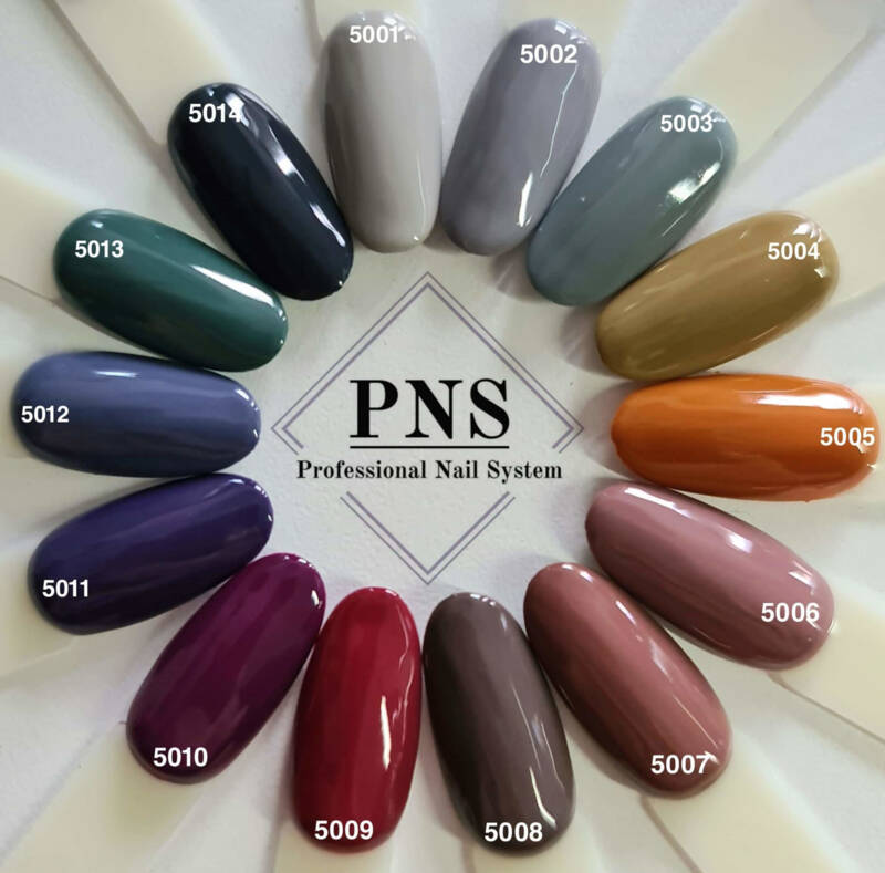 PNS colors 5001-5015