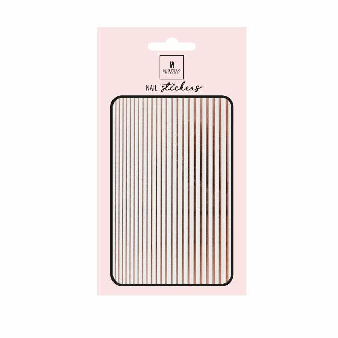 5102 - MM- ELASTIC STRIPE – rose gold