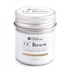 CC Brow Henna Light Brown 5 of 10 mg in potje 5 mg