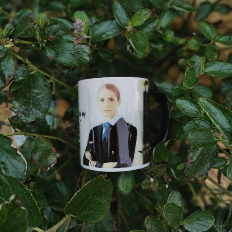 """The """"Don't make me use my Captain's Voice"""" Special Edition Mug."""
