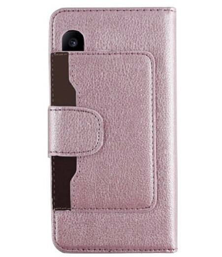 Booktype Wallet case, hoesje voor de iPhone X/ Xs - Rosé
