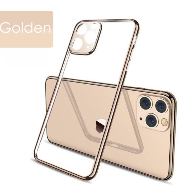 Lux plating hoesje voor de iPhone 11 - Goud
