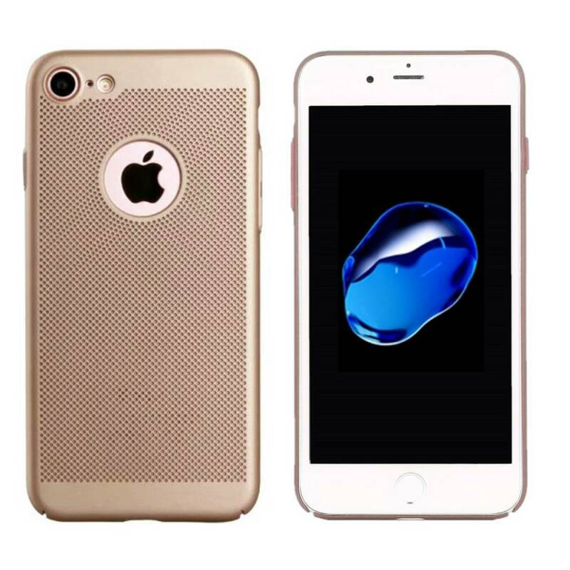 Gold dot backcover, hoesje voor de iPhone 6/ 6s - Goud