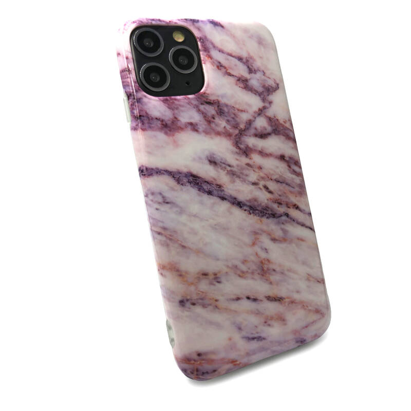 Marmer Backcover voor de iPhone 11 Pro Max - Roze