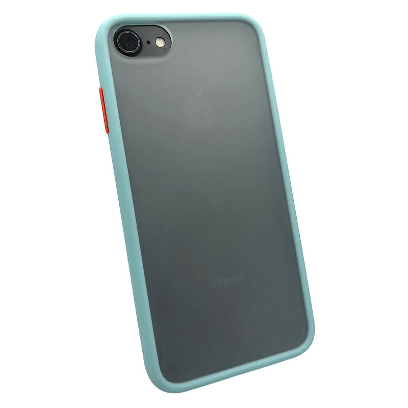 Colorbutton Backcover voor de iPhone 6 Plus / 6s Plus - lichtblauw