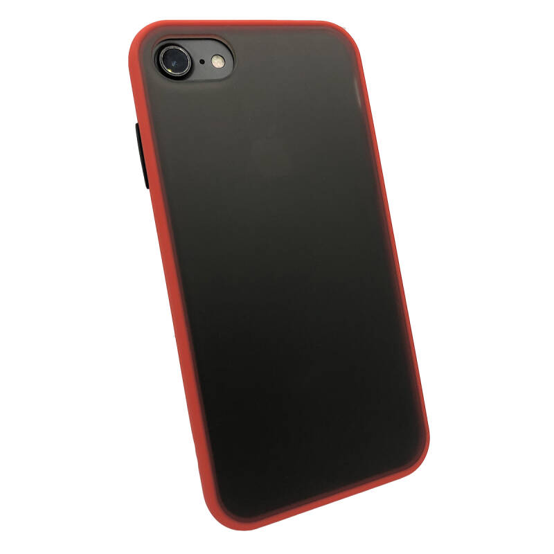 Colorbutton Backcover voor de iPhone SE (2020) / 8 / 7 - rood