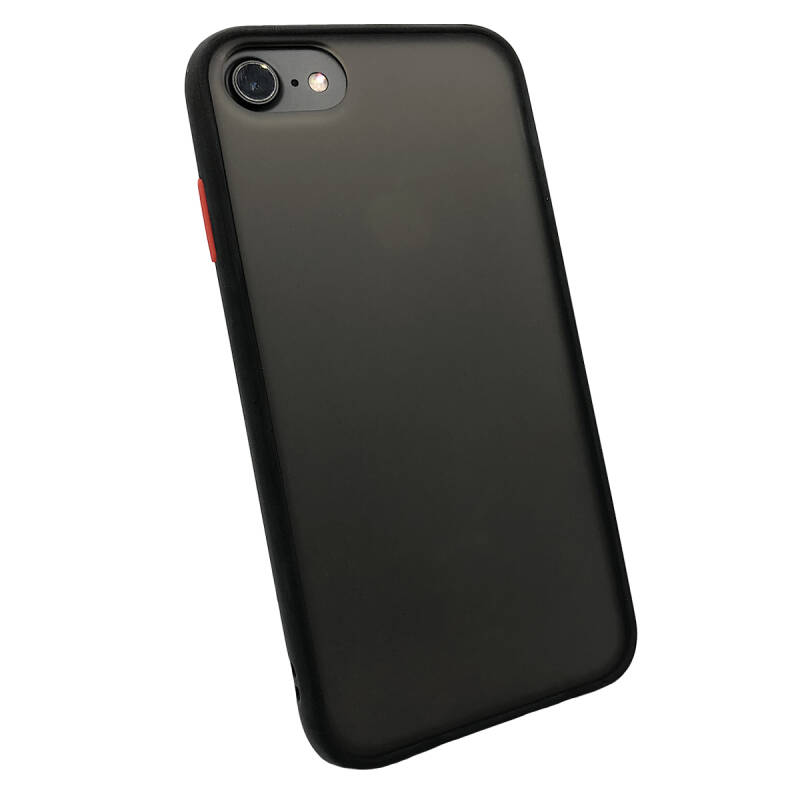 Colorbutton Backcover voor de iPhone 6 Plus / 6s Plus - zwart