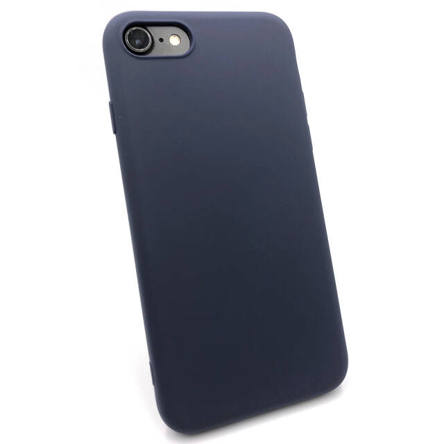 Softgrip Backcover voor de iPhone 8 Plus / 7 Plus - Blauw
