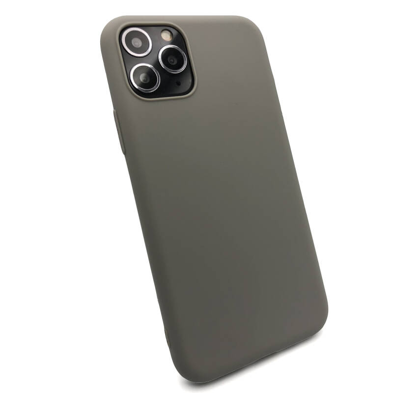 Softgrip Backcover voor de iPhone 11 Pro - Grijs