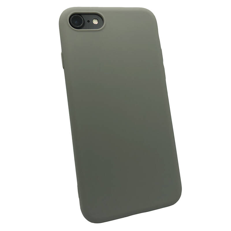 Softgrip Backcover voor de iPhone SE (2020) / 8 / 7 - Grijs