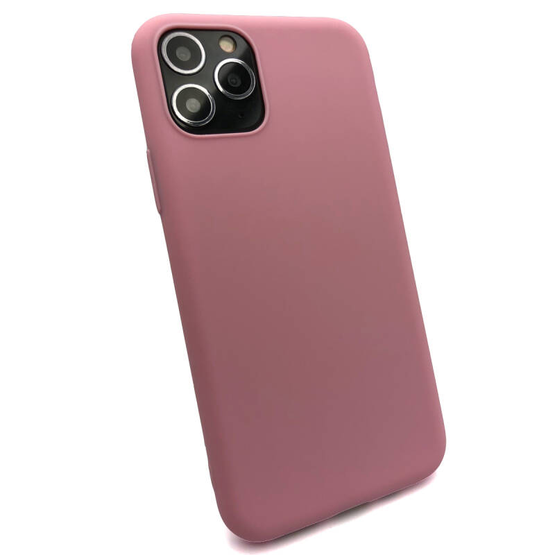 Softgrip Backcover voor de iPhone 11 Pro - Knal roze
