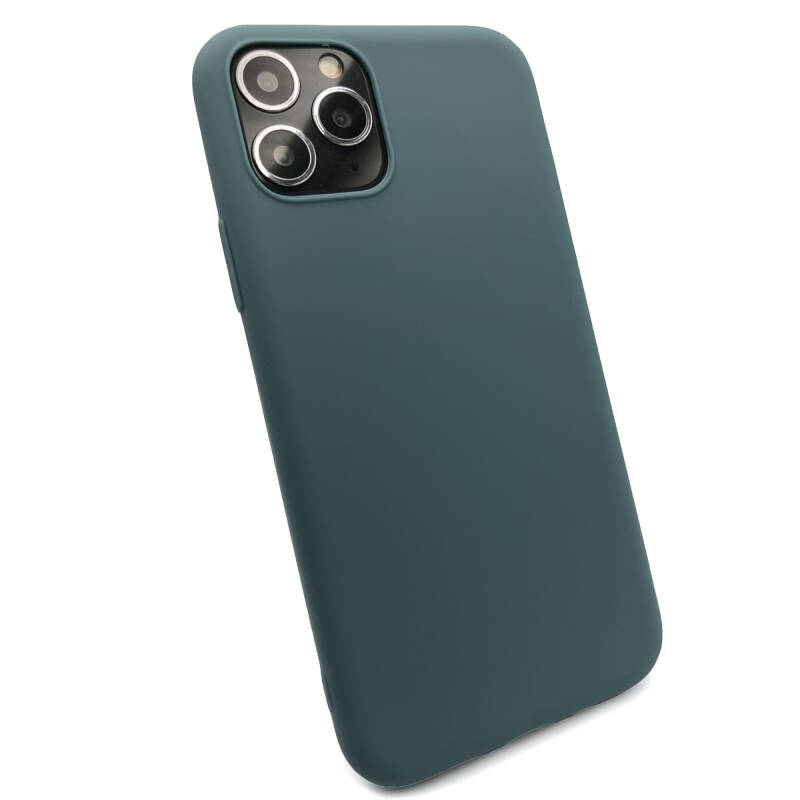 Softgrip Backcover voor de iPhone 11 Pro - Blauw (Lake)