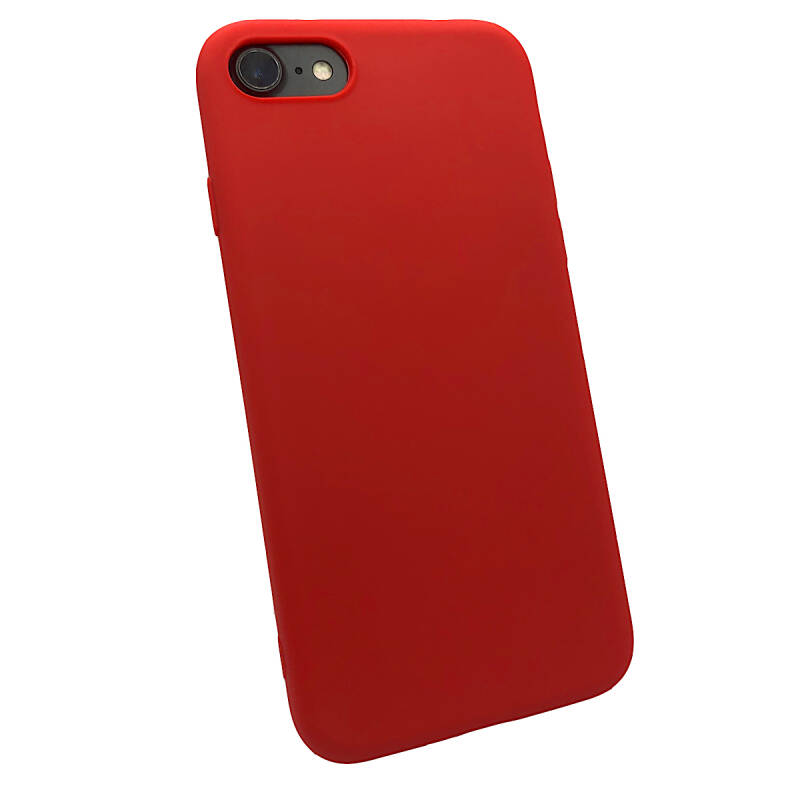 Softgrip Backcover voor de iPhone 8 Plus / 7 Plus - Rood