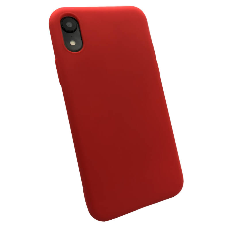 Softgrip Backcover voor de iPhone XR - Rood