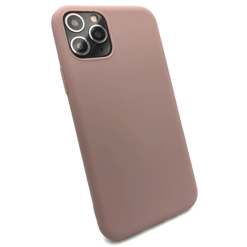 Softgrip Backcover voor de iPhone 11 Pro - Pastel roze