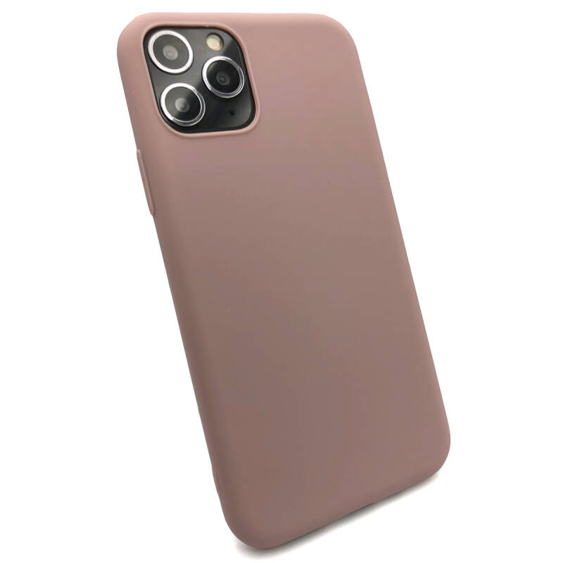 Softgrip Backcover voor de iPhone 11 Pro Max - Pastel roze