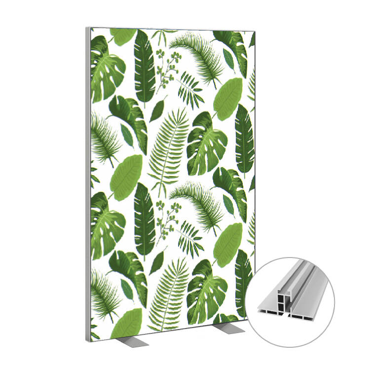 Roomdivider tropical leaves
