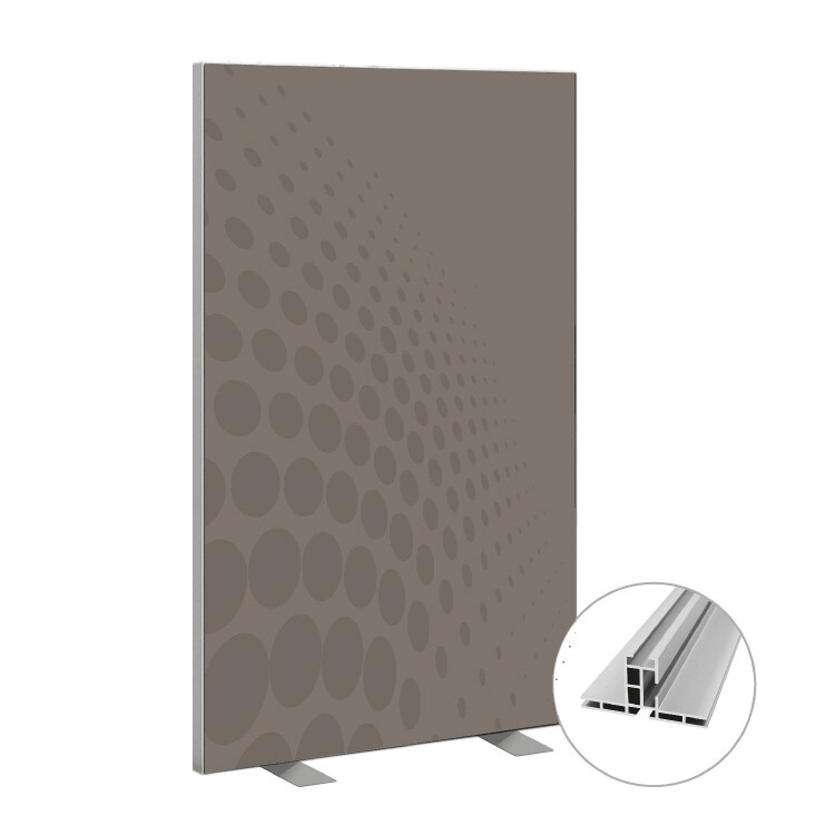 Roomdivider basic grey