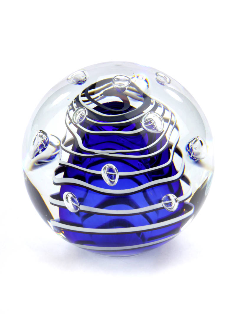 Heelal Universe U33 Blauw | Glas | As-urn-ornament